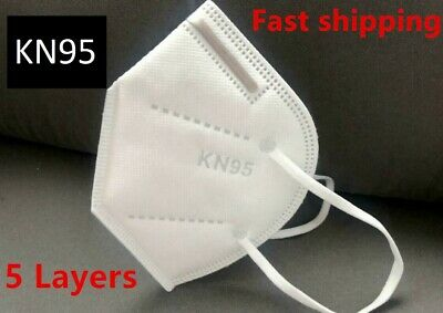 [10 PACK]  KN95 Disposable Protective Face Mask K-N95 Certified Safety