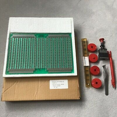 VINTAGE SPEED WIRE BOARD BICC VERO and WIRES, PEN, CUTTER, EXTRACTOR etc