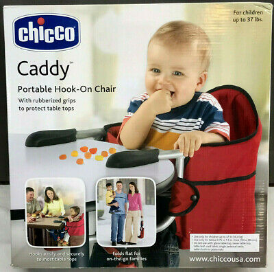 NEW - Chicco CADDY Portable Folding Hook-On Chair 4062508700070 Booster Seat NIB