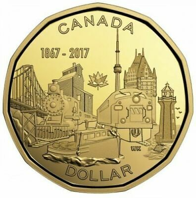 CANADA **2017 New Loonie 150th Our Achievements CONNECTING A NATION