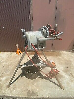 """Ridgid 300 Threading Machine with oiler and 1/2"""" to 1""""die head"""