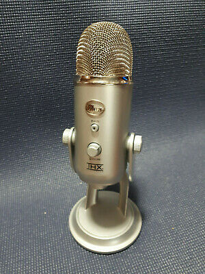 Blue Yeti Microphone Professional USB Condenser Microphone - Gentley Used