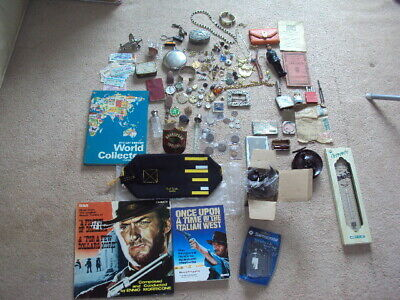 Joblot Of Vintage / New Collectibles , Curio's , Jewellery / Coins, Other  Etc !