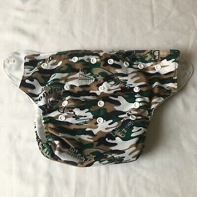 sunny baby diaper camo 2012 Sprot  Adjustable snap