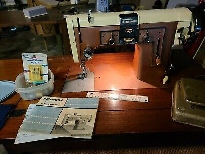 kenmore automatic zigzag sewing machine 117.841