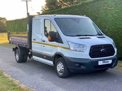 2016 16 Ford Transit T350 2.2 Tdci 125Ps Utility Cab Tipper * 39000 Miles * Dies
