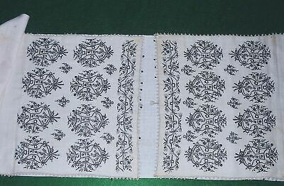 ANTIQUE OTTOMAN TURKISH SILVER METALLIC EMBROIDERED YAGLIK, SASH, TOWEL_19th C