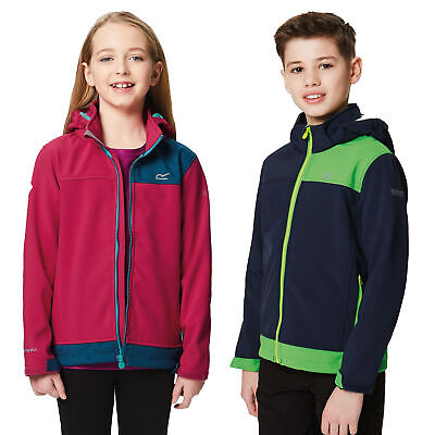 Regatta Astrox Kids Boys Girls Warm Wind Resistant Softshell Jacket RRP £60