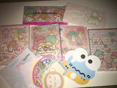 Sanrio Little Twin Stars Memo Notepads Stationary Vintage Lot