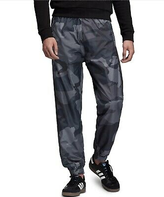Adidas Camouflage Woven Track Pants Gray Camp  Men's Size XXL - NWT - $90