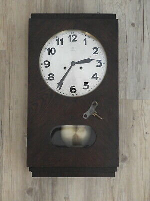 Antique Junghans Wurttemberg W202A Wall Clock