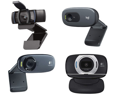 🔥 NEW Choose From Logitech C270, C310, C615, or C920s w/ Privacy Shutter Webcam