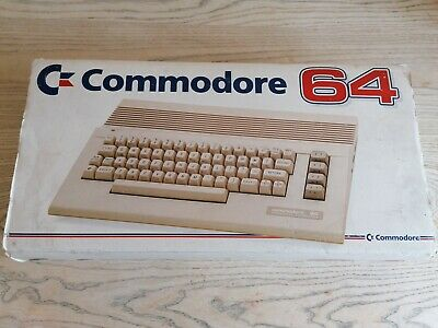 Commodore 64 Personal Computer With Power Supply - Tested - Boxed