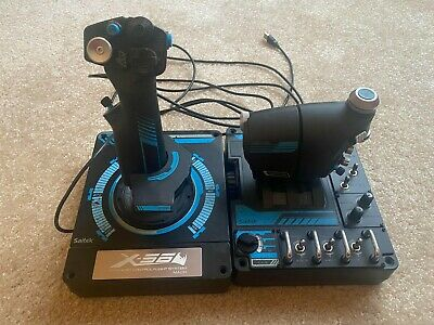 Logitech X56 H.O.T.A.S Throttle and Stick - Slightly Used