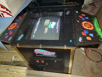 Galaxy Games Coin Operated op Cocktail Table Vintage old school Arcade Game