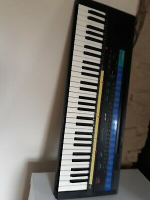 Casio Tonebank Ct-615 Electronic Keyboard With Power Supply.
