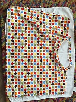 Breastfeeding cover Adjustable Neckline Wire Insert Aid Comfort Privacy Spotty