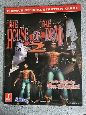 4 Official Prima Strategy Guides. 1st Party Dreamcast Guides RARE