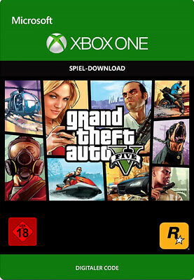 [VPN Aktiv] Grand Theft Auto V GTA 5 Spiel Key - Xbox One Digital Download Code