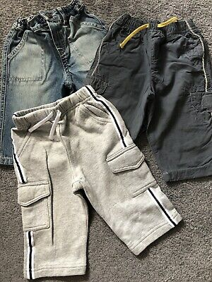 Marks And Spencer Baby Boys Bundle 6-9 Months Trousers Joggers Jeans