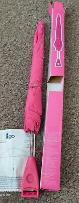 Mothercare Universal Pink UV Baby Parasol For Pram Buggy New