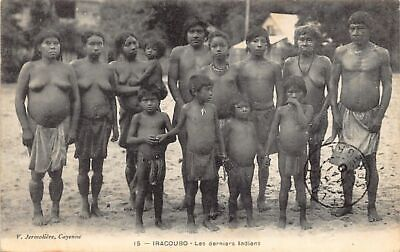 Guyane - IRACOUBO - Les derniers Indiens - Ed. V. Jermolière 15