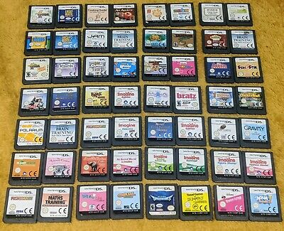 Nintendo DS Game Cartridge Bundles! Pick your own **Fast Postage**