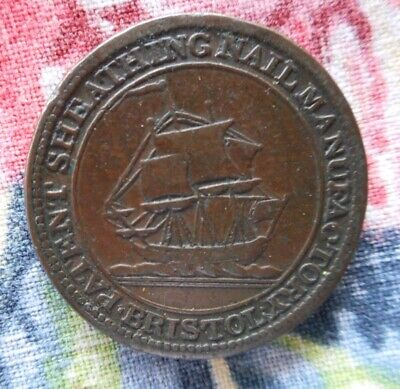Great Britain - Payable at Bristol & London farthing token 1811.