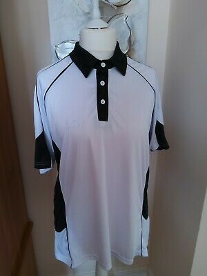 Acclaim Lawn Bowls Top White With Black Accents Xxl