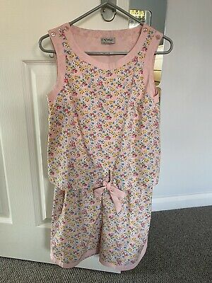 Girls Next Pink Floral Playsuit Age 12
