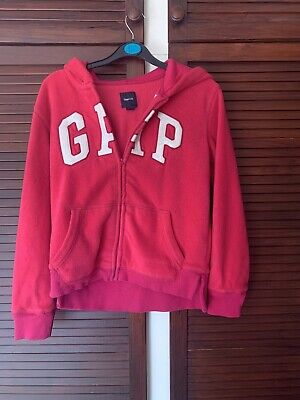 Girls Gap Age 13 Xl Pink Zip Up Hoody