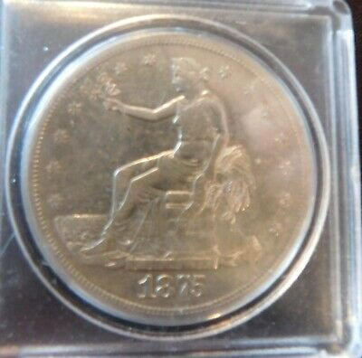 1875-S Trade Dollar 420 Grains 999 Fine Silver