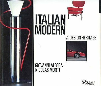 Italian Modern Design Furniture Architecture Etc. - Designs Makers Dates / Book