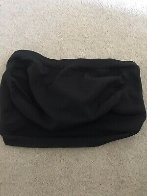 Mothercare Blooming Marvellous Black Pregnancy Support Belt Belly Band Size L 16
