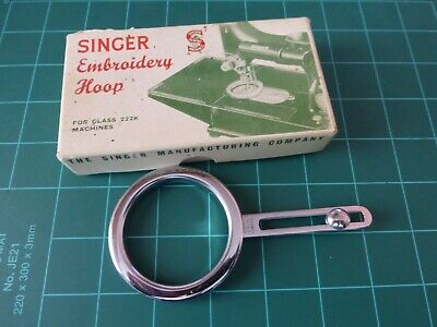 Singer Featherweight 222K Embroidery Hoop Attachment No 171074