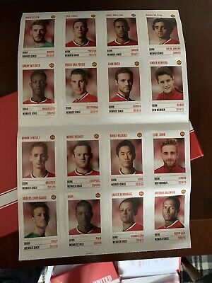 Manchester United Stickers Official