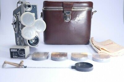 Eumig C3 M Cine Camera, Cased With Instruction & Accessories.