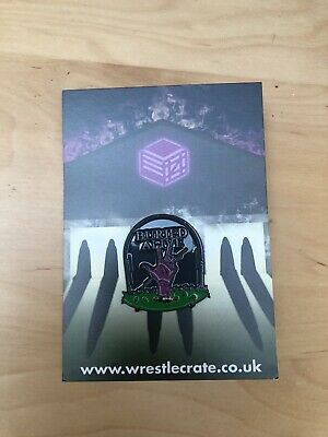 """Wrestle Crate, """"Before The Boneyard"""" Buried Alive Pin"""