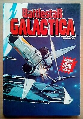 Battlestar Galactica Storybook 1978- Hardback Book - Unclipped - Collectable