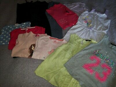 Girls Bundle Of Leggings, Playsuit, T-shirts & Tops Aged 5-6 Years - 13 items