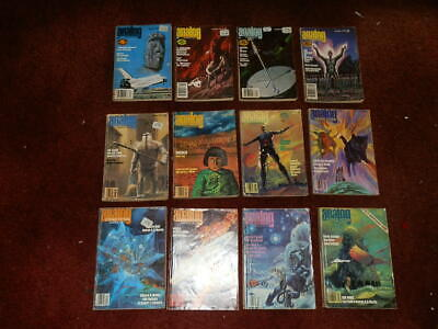 ANALOG Science Fiction Magazines 1980..FULL YEAR..12 ISSUES.LOVELY ORDER
