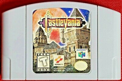 Castlevania (Nintendo 64, 1999) N64 Game - USA - Tested - Authentic
