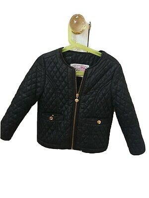 Girls YD Young Dimensions Black  Jacket Age 5-6yrs