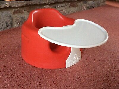 Immaculate Bumbo With Removable Tray, Red , In Excellent Condition