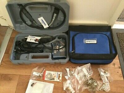 Dremel 3000 & Accessories and with flexi shaft & test material saft storage bag