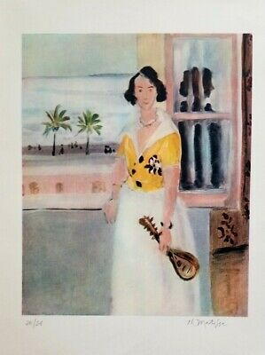 HENRI MATISSE Original 1947 Print + Hand Signed + Numbered + With COA