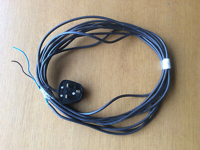 Panasonic Vacuum Cleaner 7m Black Cable & Plug Assembly, Vax Electrolux Hoover