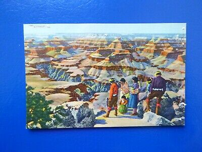 Grand Canyon of Arizona, Linen Era Postcard