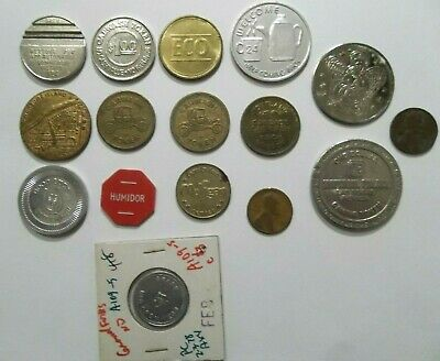 Good For Trade Token Lot Authentic Group Of Pieces Junk Drawer Cleanout
