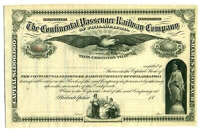 American Bank Note Co. Railroad Stock